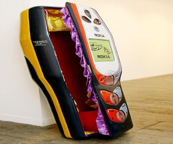 phone coffin