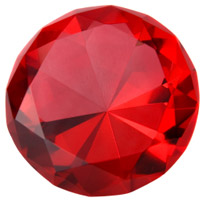 A Picture of a Shiny Ruby